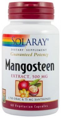 MANGOSTEEN EXTRACT 500mg 60 capsule vegetale Secom