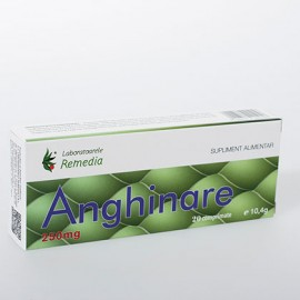 ANGHINARE 250mg 20cpr BLISTER REMEDIA