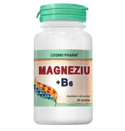 MAGNEZIU+B6 30cps COSMOPHARM