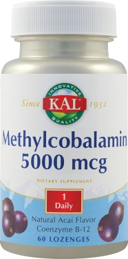 METHYLCOBALAMIN 5000MCG 60CPR SECOM