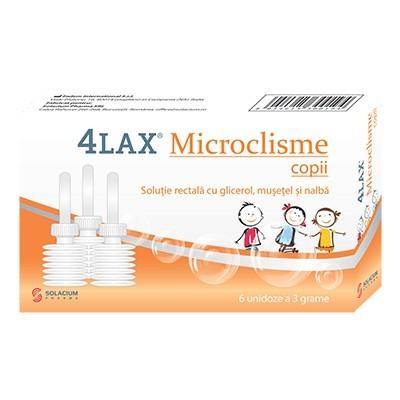 Poze 4LAX MICROCLISME COPII 6DZX3GR SOLACIUM PHARMA