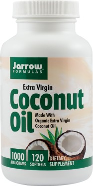 COCONUT OIL EXTRA VIRGIN 1000MG 120CPS SECOM
