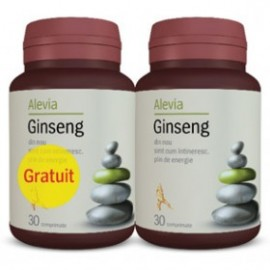 GINSENG 30CPR+30CPR PACHET   ALEVIA
