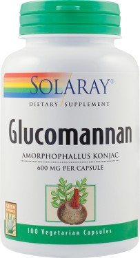 GLUCOMANNAN 600MG 100CPS SECOM