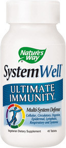 SYSTEM WELL ULTIMATE IMMUNITY NATURE'S WAY 30tb SECOM