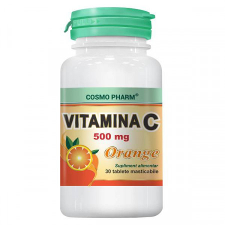 VITAMINA C PORTOCALE 500MG 30CPR COSMO PHARM
