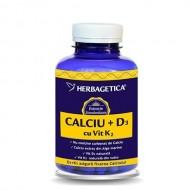 CALCIU+D3+VIT.K2 120CPS HERBAGETICA