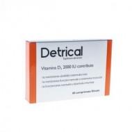 DETRICAL D3 2000IU 60CPR ZDROVIT