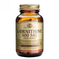 L-ORNITHINE 500mg veg.caps  50cps SOLGAR