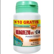 MAGNEZIU 375MG+B6 30CPR COSMOPHARM