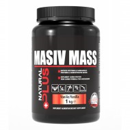 MASIV MASS 1KG-VANILIE NATURAL PLUS