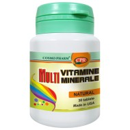 MULTIVITAMINE + MINERALE 30cps COSMOPHARM