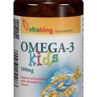 OMEGA 3 PENTRU COPII 500MG 100CPS Vitaking
