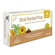 ORAL HERBAL PROPOLIS AROMA SCORTISOARA 30CPR HELCOR