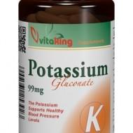 Potasiu 99mg - 100 capsule Vitaking