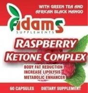 RASPBERRY KETONE (cetona de zmeura) 60cps ADAMS