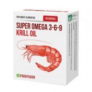 SUPER OMEGA 3-6-9 KRILL OIL 30CPS QUANTUM PHARM