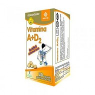VITAMINA A+D2 30CPS HELCOR