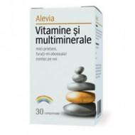 VITAMINE&MULTIMINERALE 30CPR ALEVIA