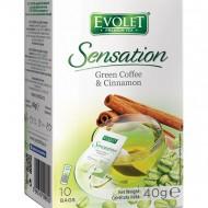 CAFEA VERDE&SCORTISOARA 10DZx4GR (EVOLET) VEDDA