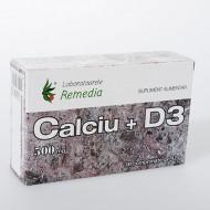 CALCIU+D3 500MG 30CPR  REMEDIA