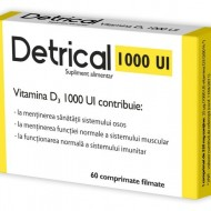 DETRICAL D3 1000IU 60CPR ZDROVIT