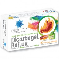 DICARBOGEL REFLUX 30CPR HELCOR