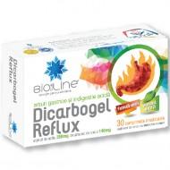DICARBOGEL REFLUX 30CPR HELCOR