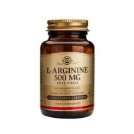 L-ARGININE 500mg veg.caps 50cps SOLGAR