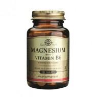 MAGNESIUM + B6 100cpr SOLGAR