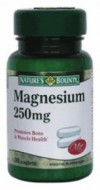MAGNEZIUM 250MG 30CPR NATURE'S BOUNTY WALMARK