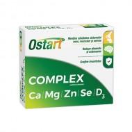 OSTART COMPLEX CA+MG+ZN+SE+D3 20CPR FITERMAN