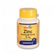 ZINC FORMULA FORTE 15MG 30CPR WALMARK