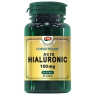 ACID HIALURONIC 100MG 60CPR COSMOPHARM