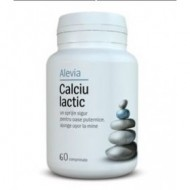 CALCIU LACTIC 60CPR ALEVIA