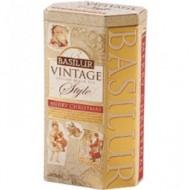 CEAI VINTAGE MERRY CHRISTMAS 100GR BASILUR TEA
