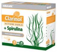 CLARINOL 30 CPS  + SPIRULINA 500 MG 30 CPS WALMARK