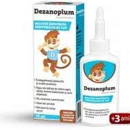 DEZANOPLUM SOLUTIE IMPOTRIVA PADUCHILOR DE CAP 75ML ZDROVIT