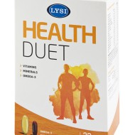 HEALTH DUET 32CPS + VITAMINE SI MINERALE 32CPR LYSI