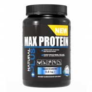 MAX PROTEIN 600GR-CAPSUNI NATURAL PLUS