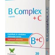 B COMPLEX+C 30CPS POLIPHARMA