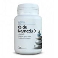 CALCIU+MAGNEZIU+VITAMINA  D 30CPR ALEVIA