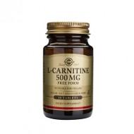 L-CARNITINE 500mg 30tb SOLGAR