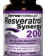 RESVERATROL SYNERGY 200mg 60tb JARROW FORMULAS SECOM