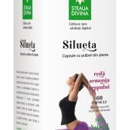 SILUETA Flacon 60 cps 500 mg/capsula Santo Raphael NOU!!!!