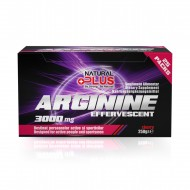 ARGININA 3000MG EFFERFESCENT 25DZ NATURAL PLUS