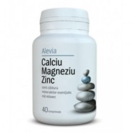 CALCIU+MAGNEZIU+ZINC 40CPR ALEVIA