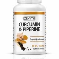 CURCUMIN&PIPERINE 60CPS ZENYTH