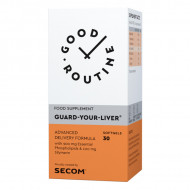 GUARD YOUR LIVER 30CPS SECOM GOOD ROUTINE - SANATATEA FICATULUI, DETOXIFIERE