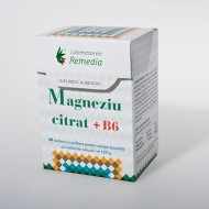 MAGNEZIU CITRAT +B6 40 STICKURI REMEDIA